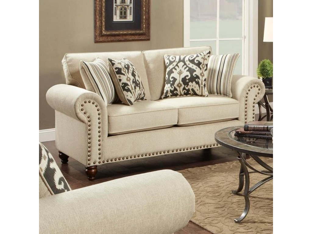 Fusion Furniture FairleighLoveseat