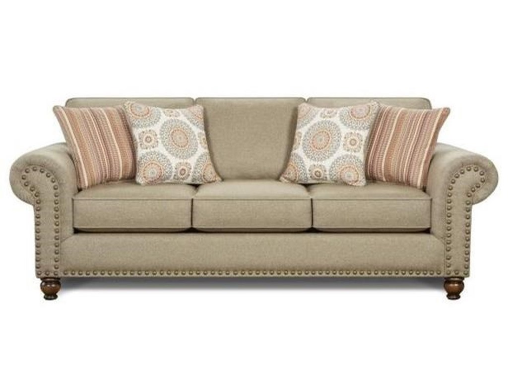 Fusion Furniture 3110Queen Sleeper Sofa