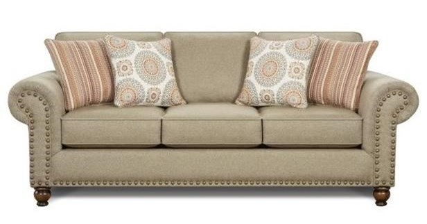 Fusion Furniture 3110Queen Sleeper Sofa