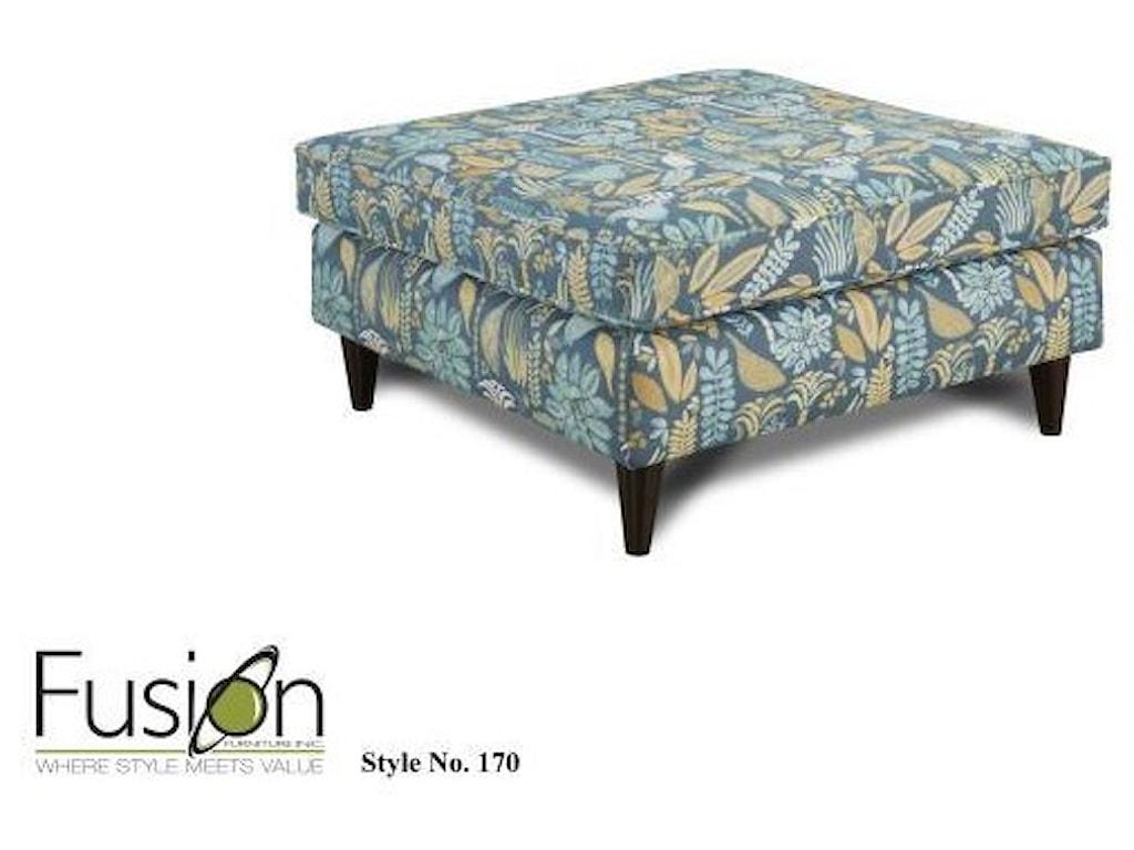 Fusion Furniture 3200Cocktail Ottoman