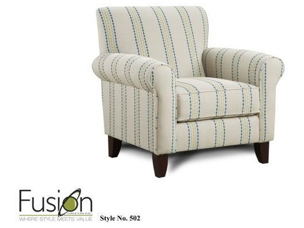 Fusion Furniture 3200Upholstered Accent Chair