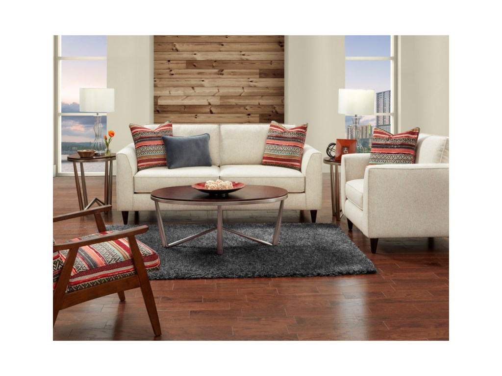 Fusion Furniture 34-00Stationary Living Room Group
