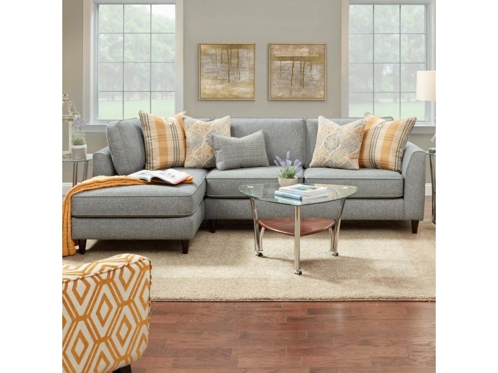 Haley Jordan 34-312 Pc Sofa w/ LAF Chaise