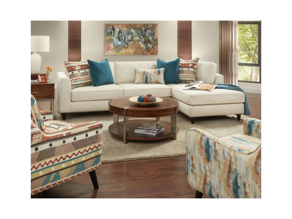 Fusion Furniture 34-31Living Room Group