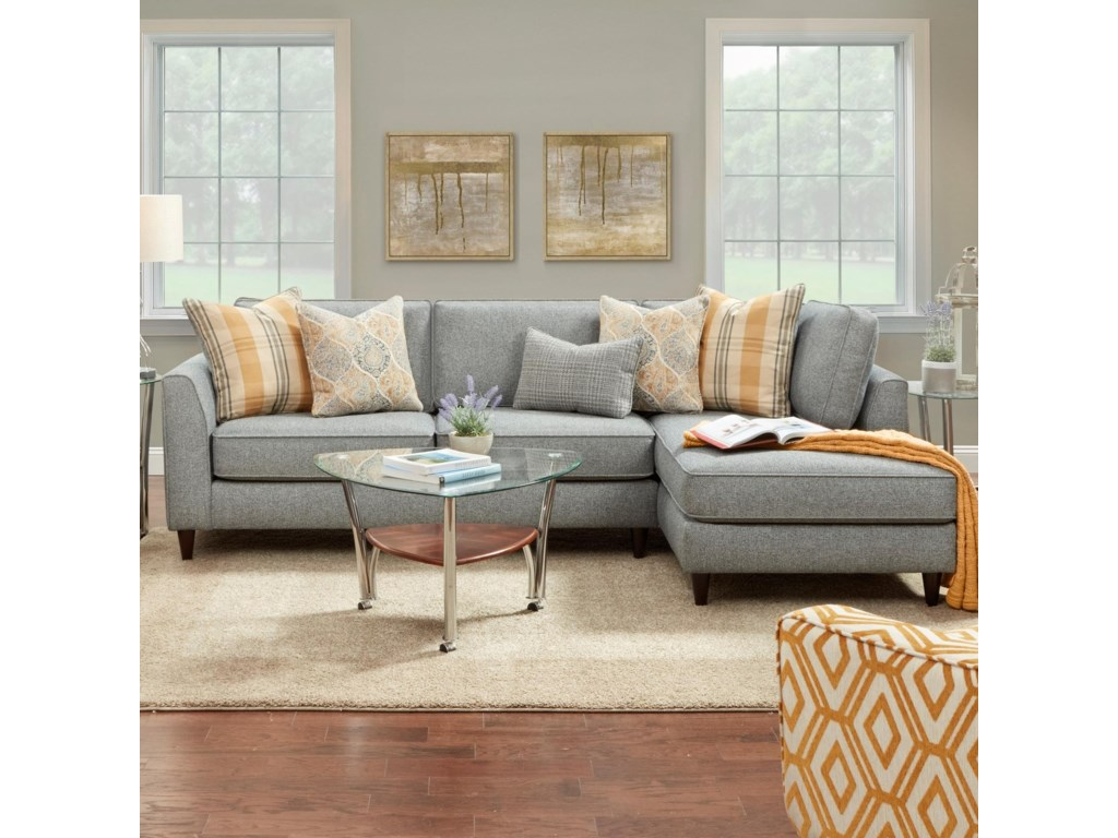 FN 34-312 Pc Sofa w/ RAF Chaise