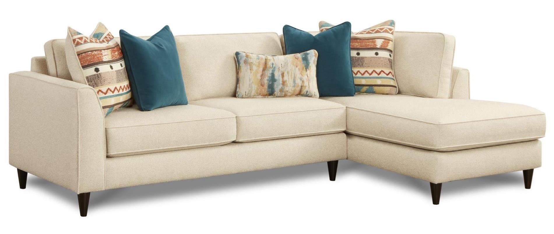 34 31 2 Pc Sofa W Raf Chaise