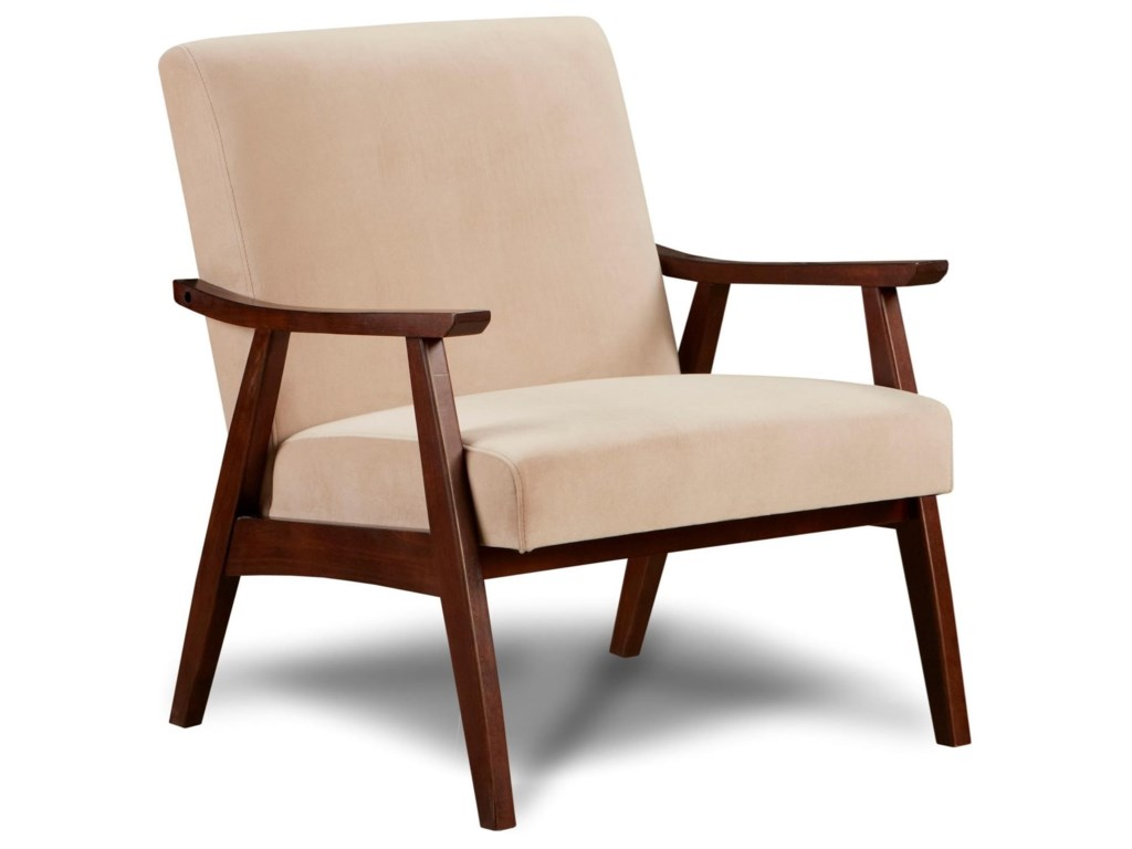 Fusion Furniture 350Wood Frame Chair