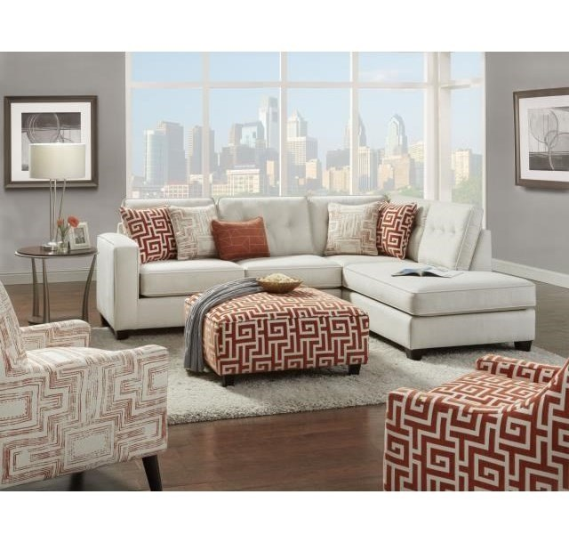 Fusion Furniture 3515Sectional