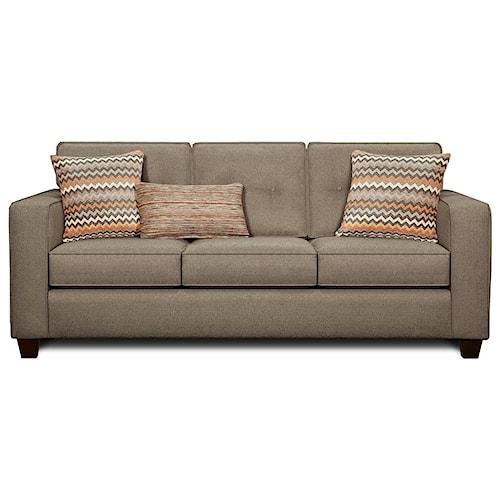 Powell 39 S V I P 3560b Contemporary Sleeper Sofa With Track