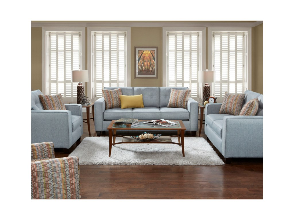 Fusion Furniture 3560BSofa