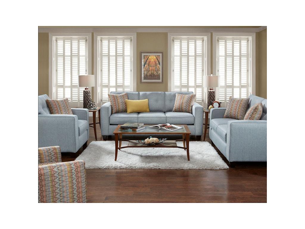 Fusion Furniture 3560BLoveseat