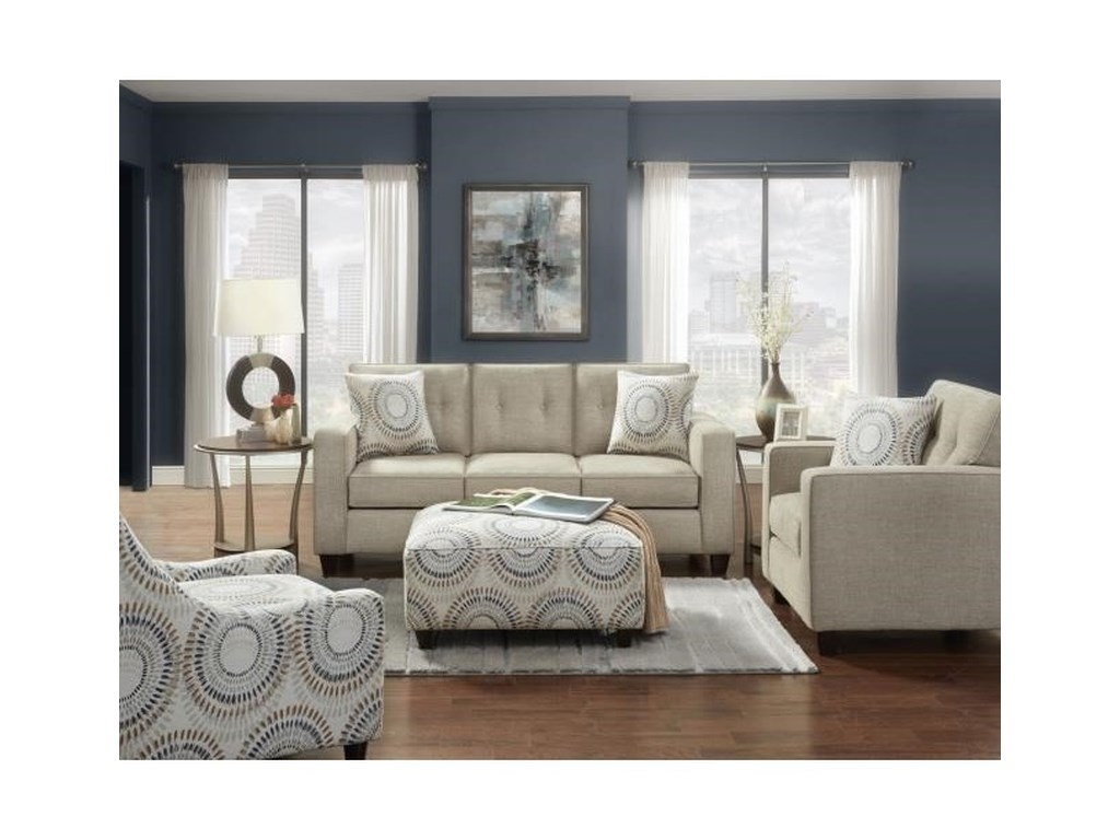 Fusion Furniture MarinQueen Sleeper Sofa