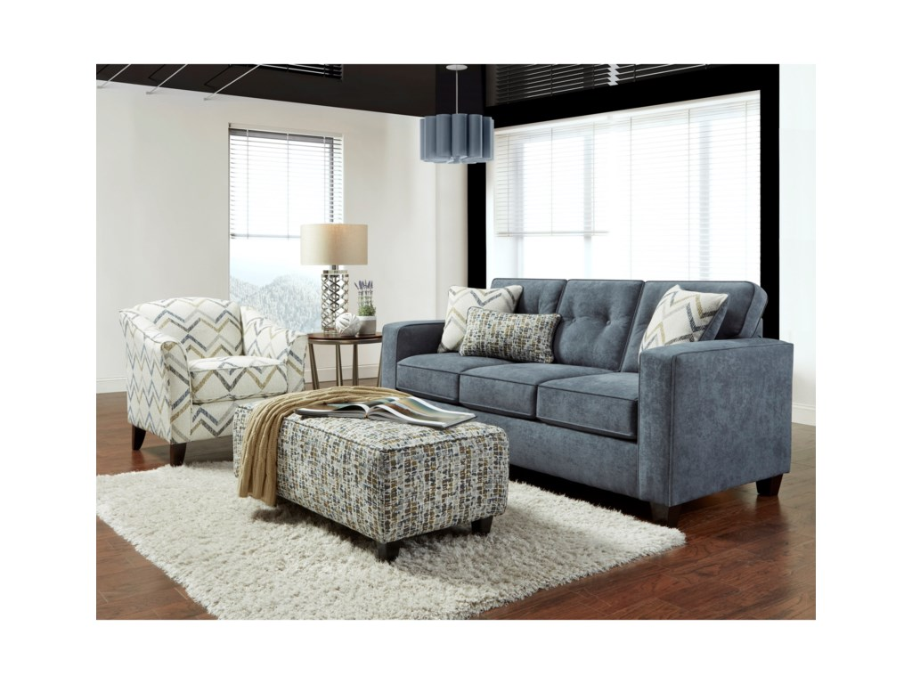 Living Room Group 3570b By Fusion Furniture Wilcox Furniture