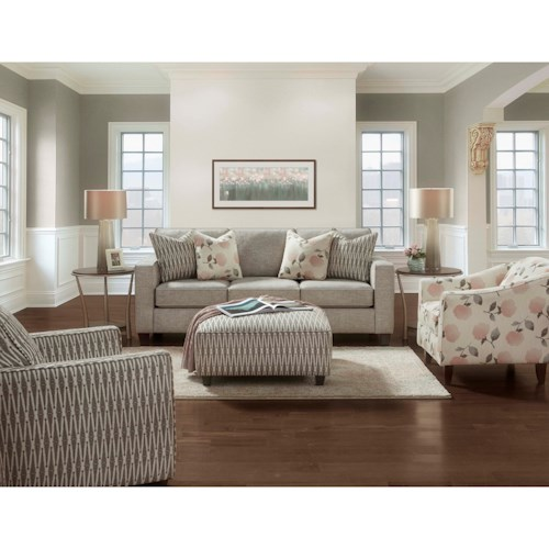 Fusion Furniture 3600 Stationary Living Room Group
