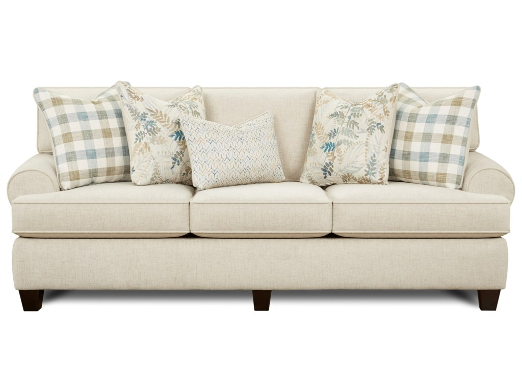 Fusion Furniture 39-00Sleeper Sofa