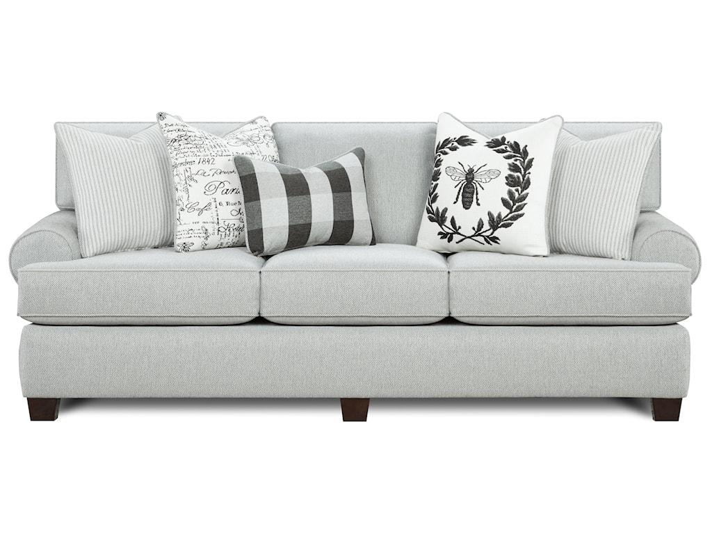 Fusion Furniture 39-00Sleeper Sofa