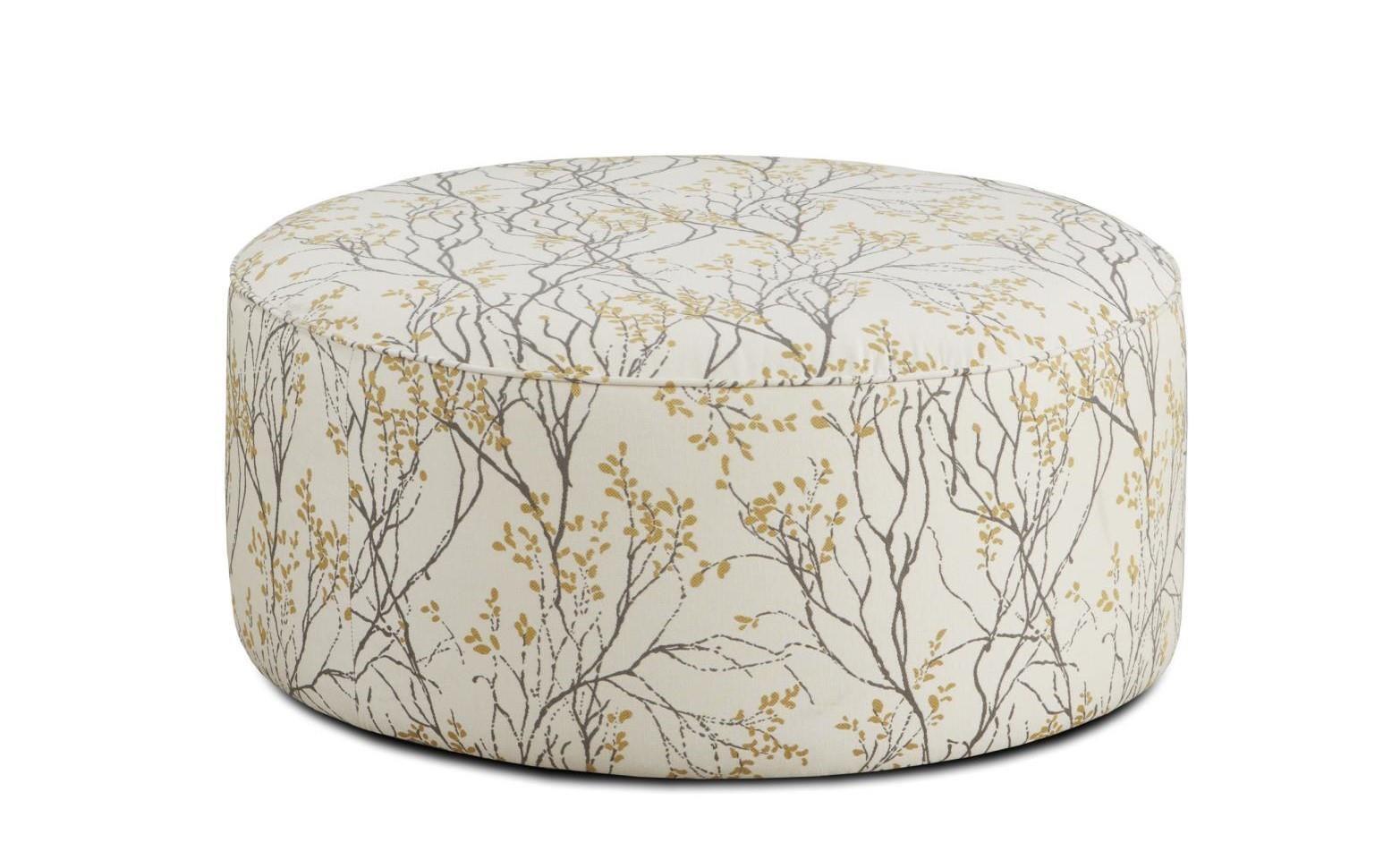 Fusion Furniture 4200 140,MYLA MARIGOLD Myla Marigold Cocktail Ottoman |  Great American Home Store | Ottomans