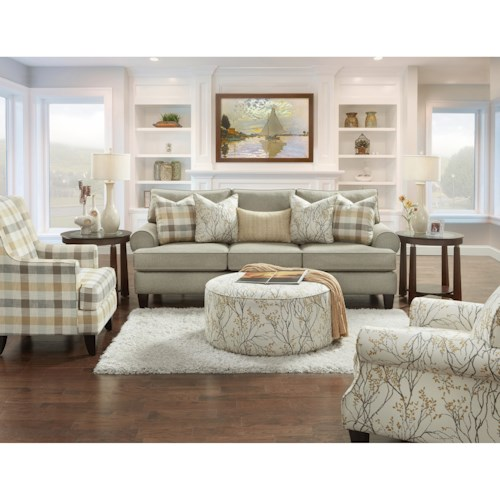 Fusion Furniture 4200 Stationary Living Room Group