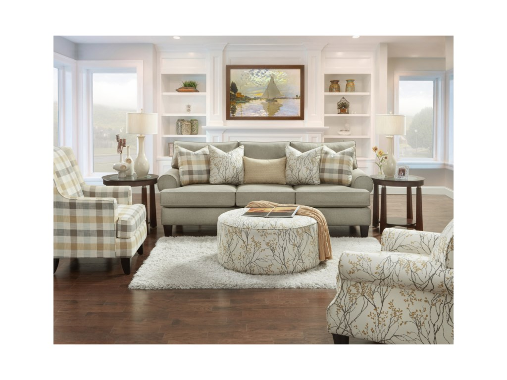 Fusion Furniture RosieStationary Living Room Group