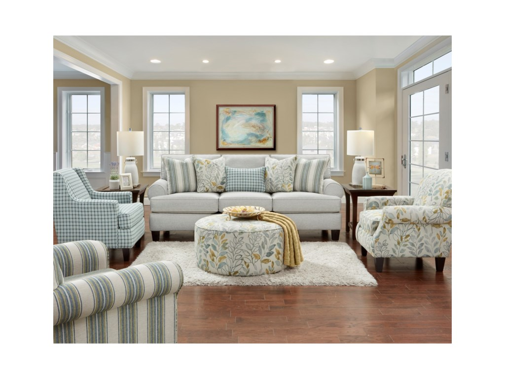 Hickory Lane 4200Stationary Living Room Group