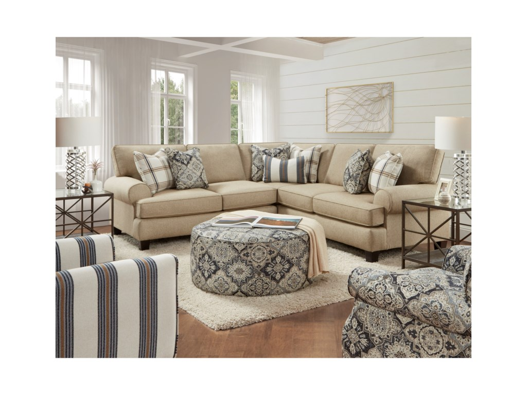 FN 4200Stationary Living Room Group