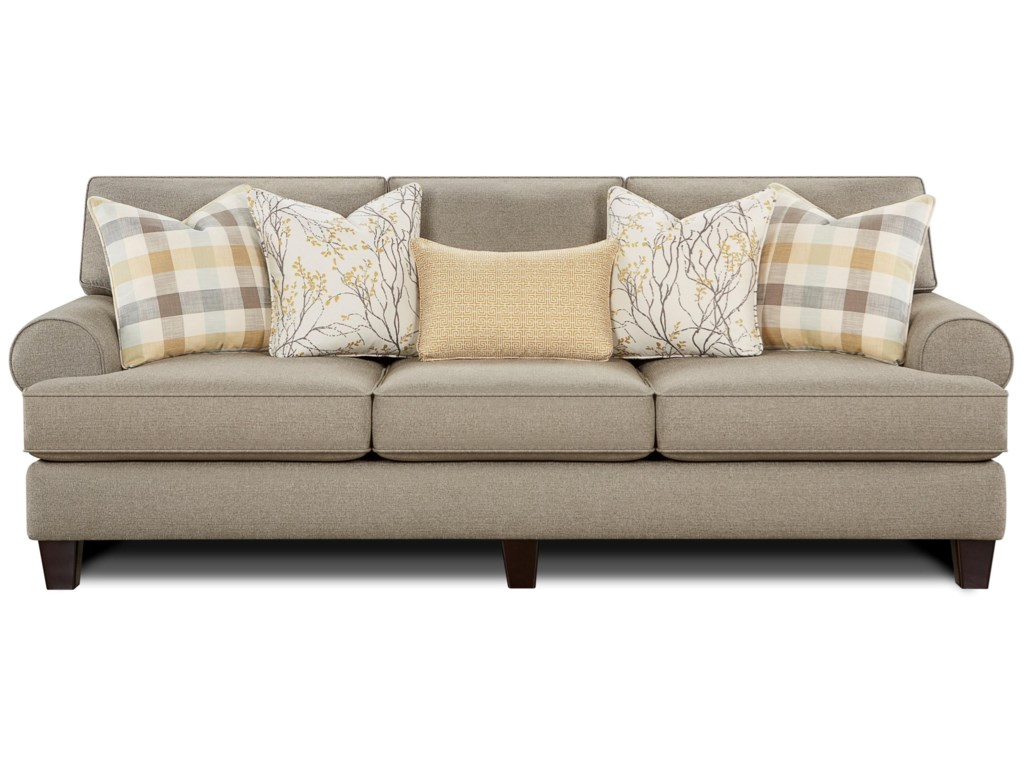 Fusion Furniture 4200Sofa