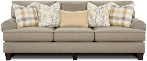 Fusion Furniture 4200 Sofa with Reversible Cushions