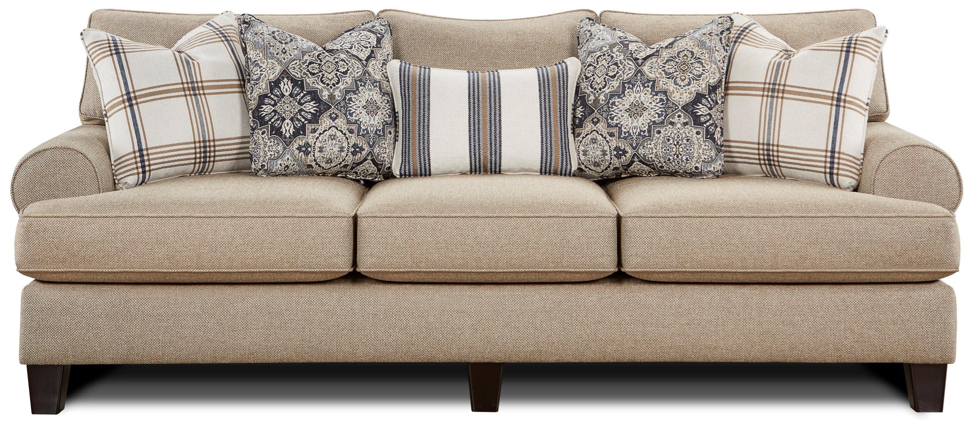 Fusion Furniture 4200Sofa ...