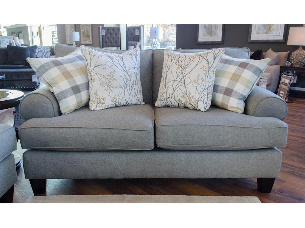 Fusion Furniture 4200Boho Birch Loveseat