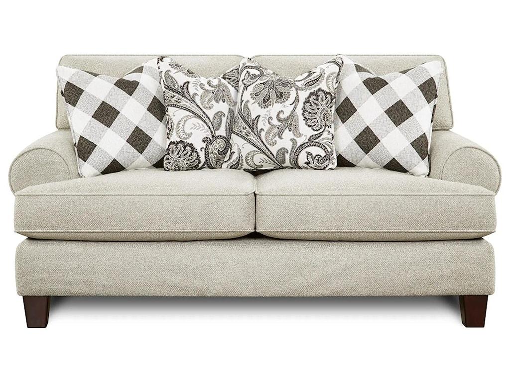 Fusion Furniture 4200Loveseat