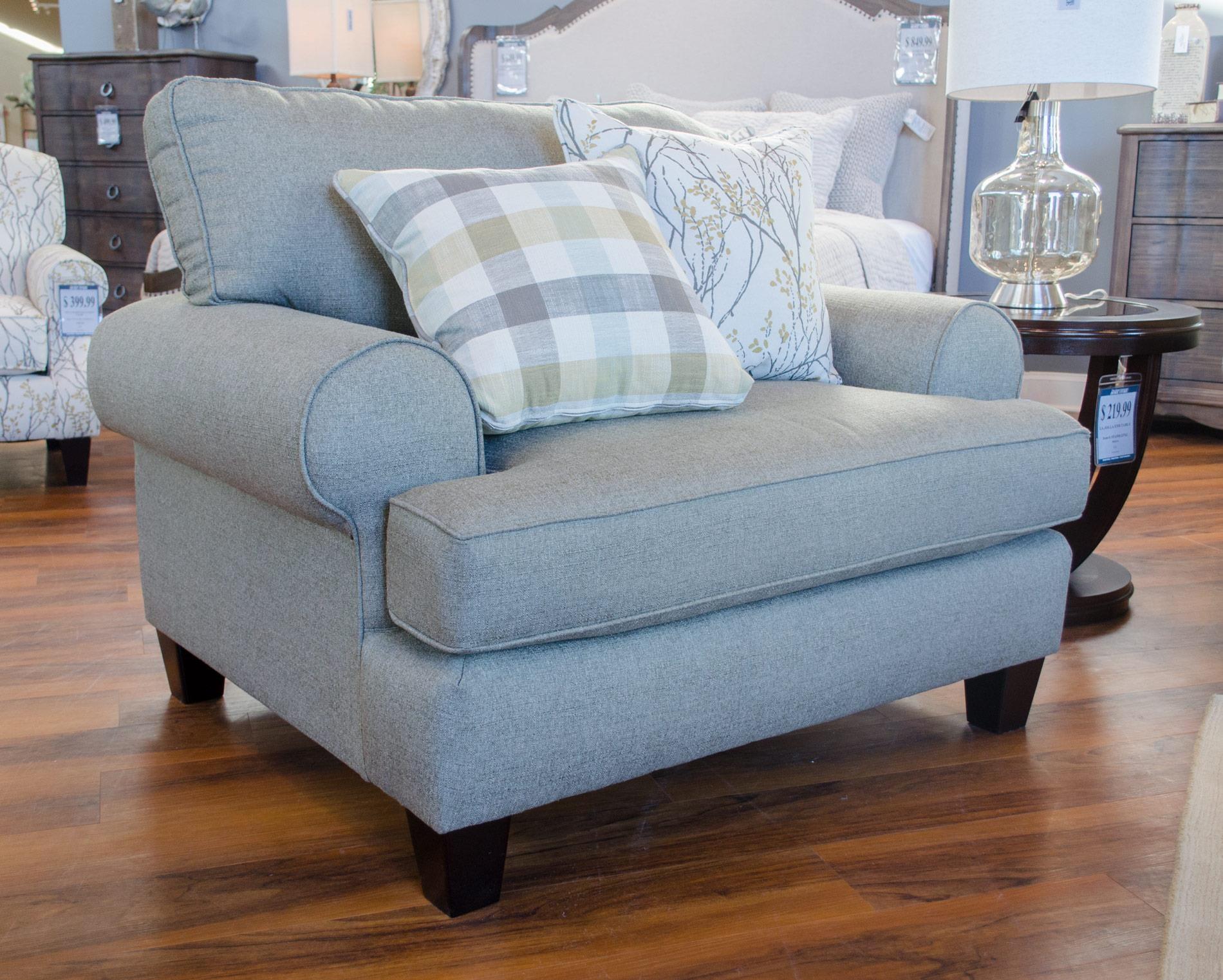 Fusion Furniture 4200Boho Birch Chair U0026 A Half ...