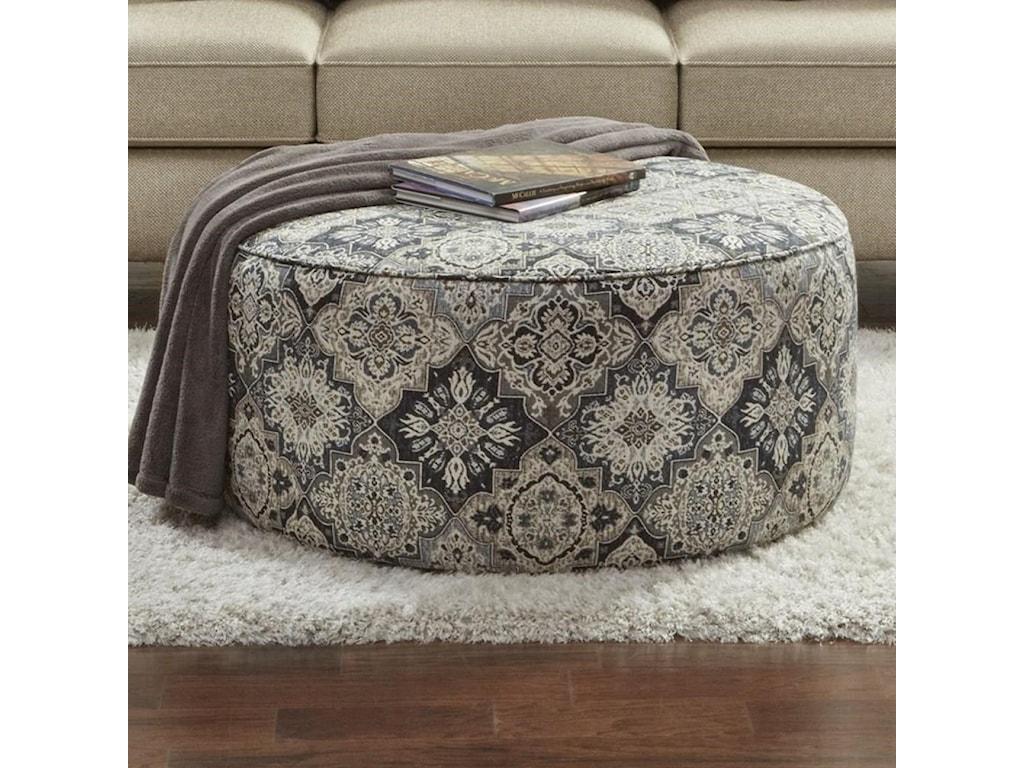 Fusion Furniture 4200Cocktail Ottoman