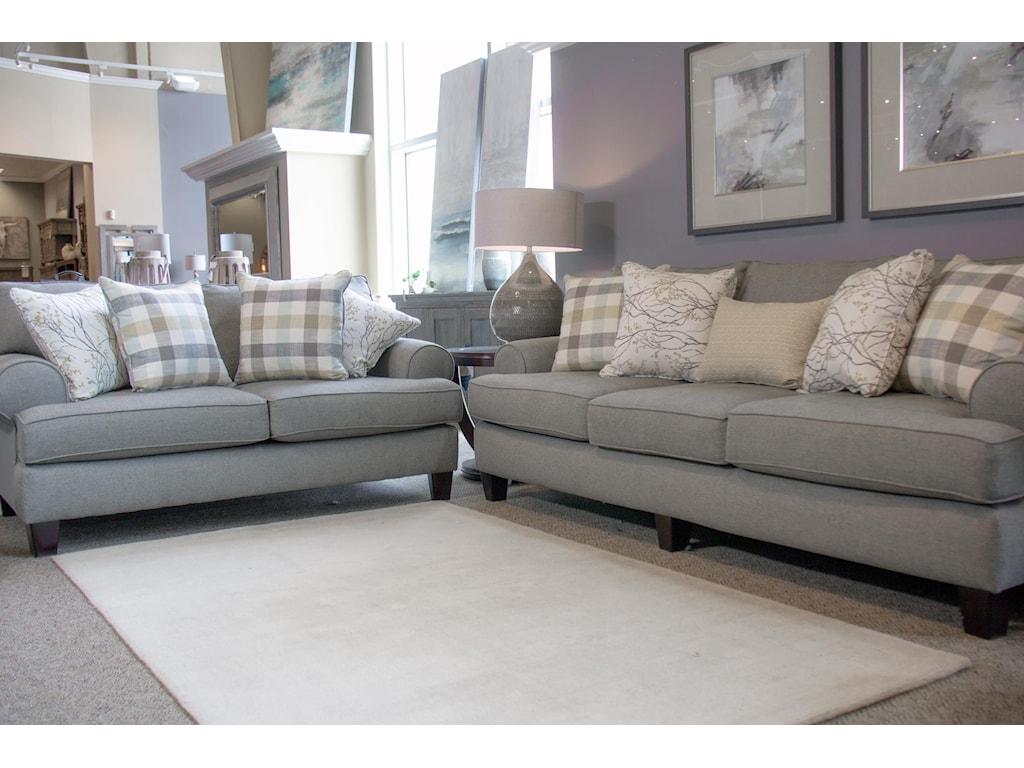 Fusion Furniture Boho BirchSofa & Loveseat