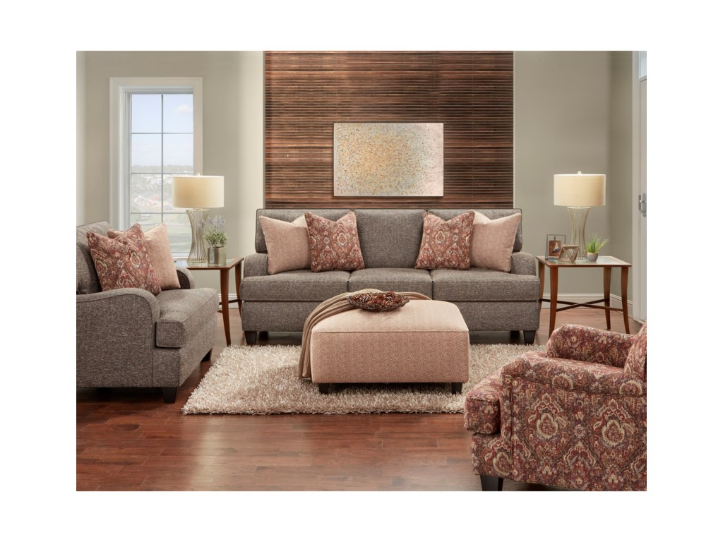 Fusion Furniture 4250Living Room Group