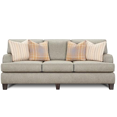 Fusion Furniture 4250 Contemporary Sofa