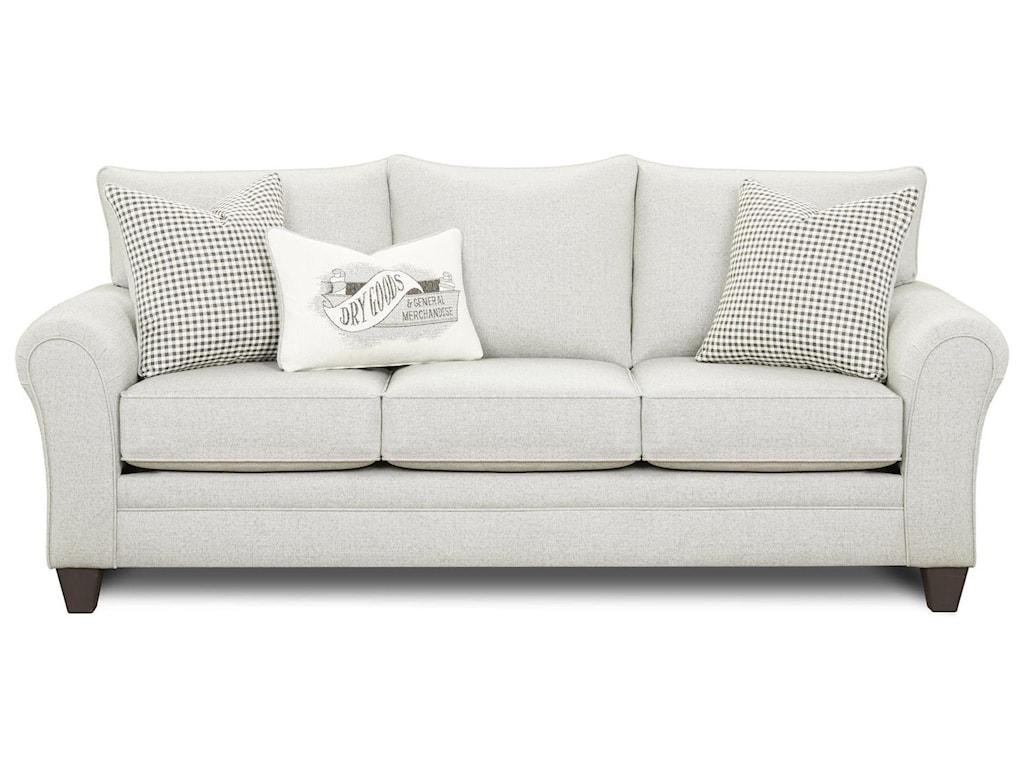 Fusion Furniture 44-00-KP Max GraySofa