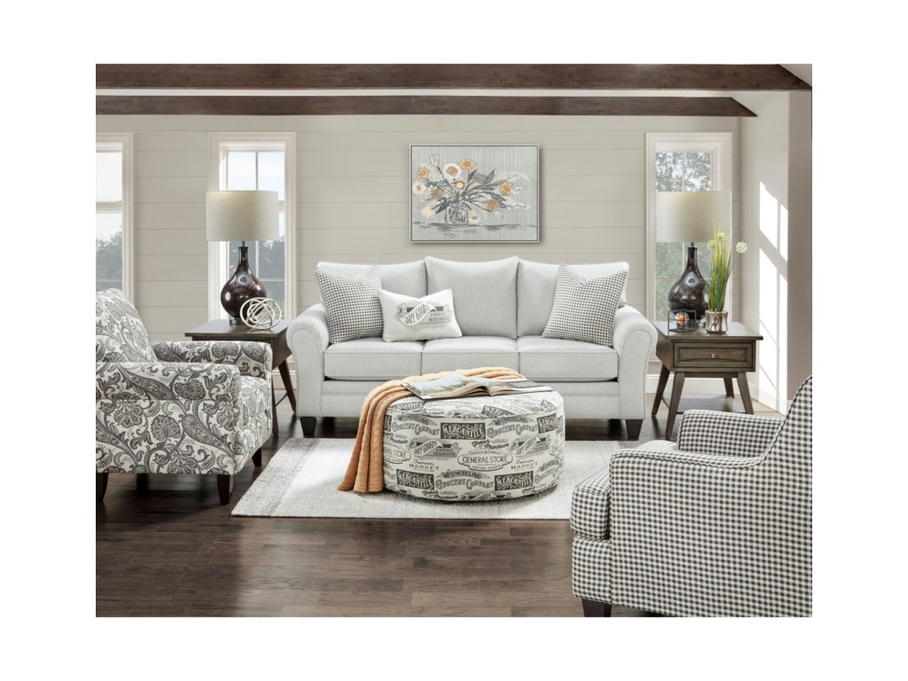 Fusion Furniture 44-00Sleeper Sofa