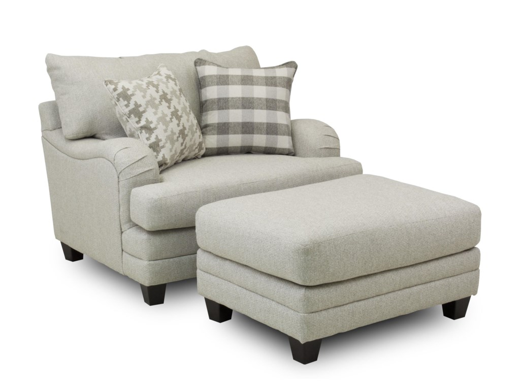 Fusion Furniture Stay HomeChair and a Half