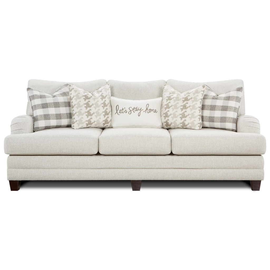 Brock Berber Transitional Sofa With Setback Arms Ruby Gordon  ~ What Is A Transitional Sofa