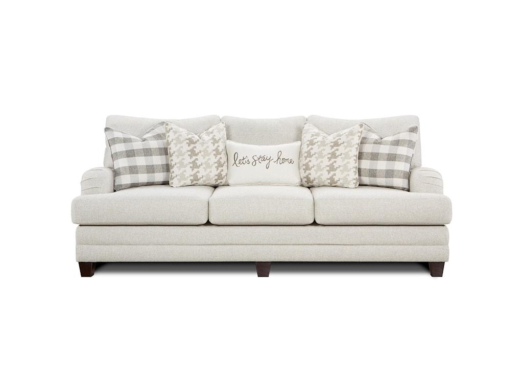 Fusion Furniture Brock BerberSofa