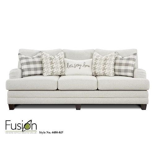 Fusion Furniture 4480 Sofa