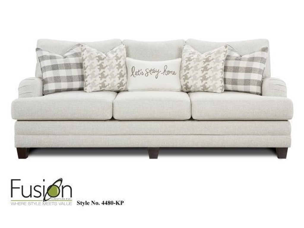Fusion Furniture 4480 Sofa