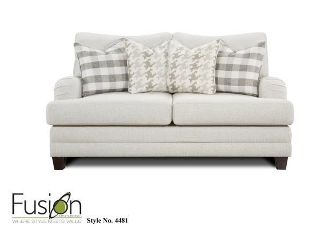 Fusion Furniture 44804481 Loveseat`