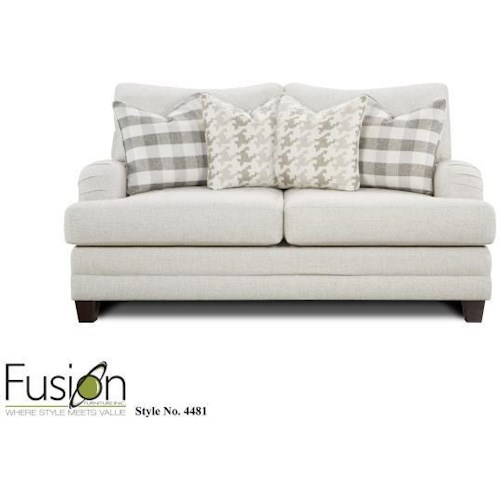 Fusion Furniture 4480 Loveseat`