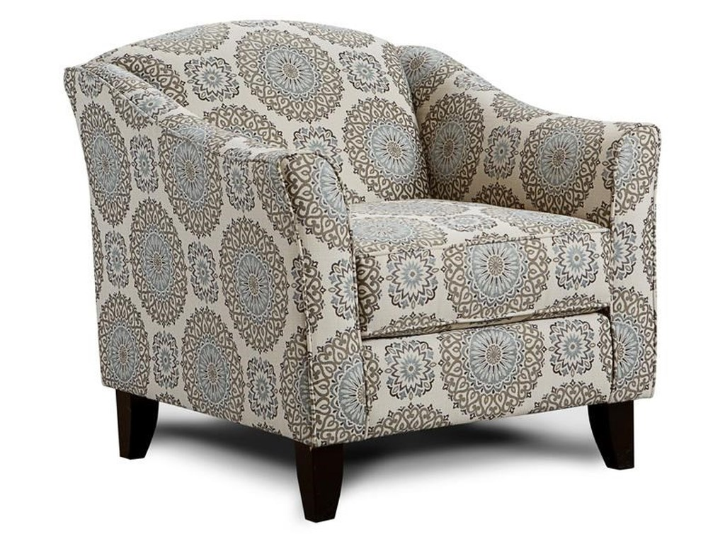 Fusion Furniture 452 BRIA TWILAccent Chair