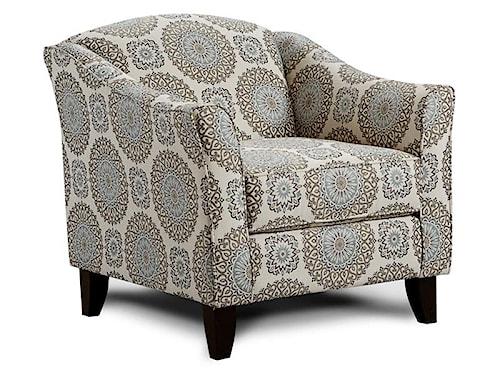 Fusion Furniture 452 BRIA TWIL ACCT CHR