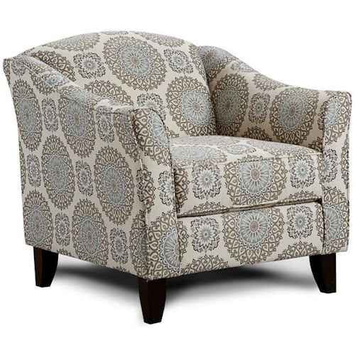 Fusion Furniture 452 BRIA TWIL ACCT CHR
