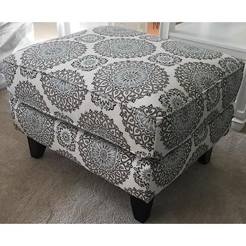 Fusion Furniture 452 BRIA TWIL ACCT OTTO