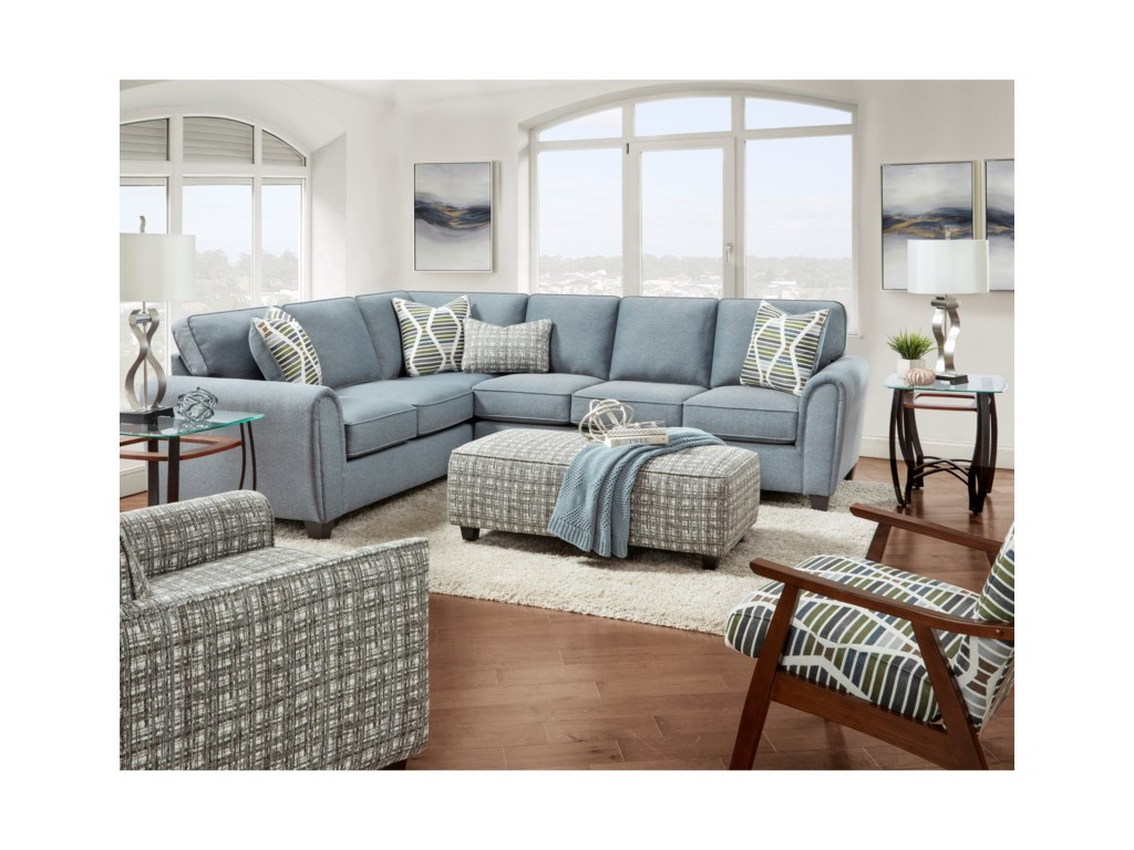 Fusion Furniture 49-00Living Room Group