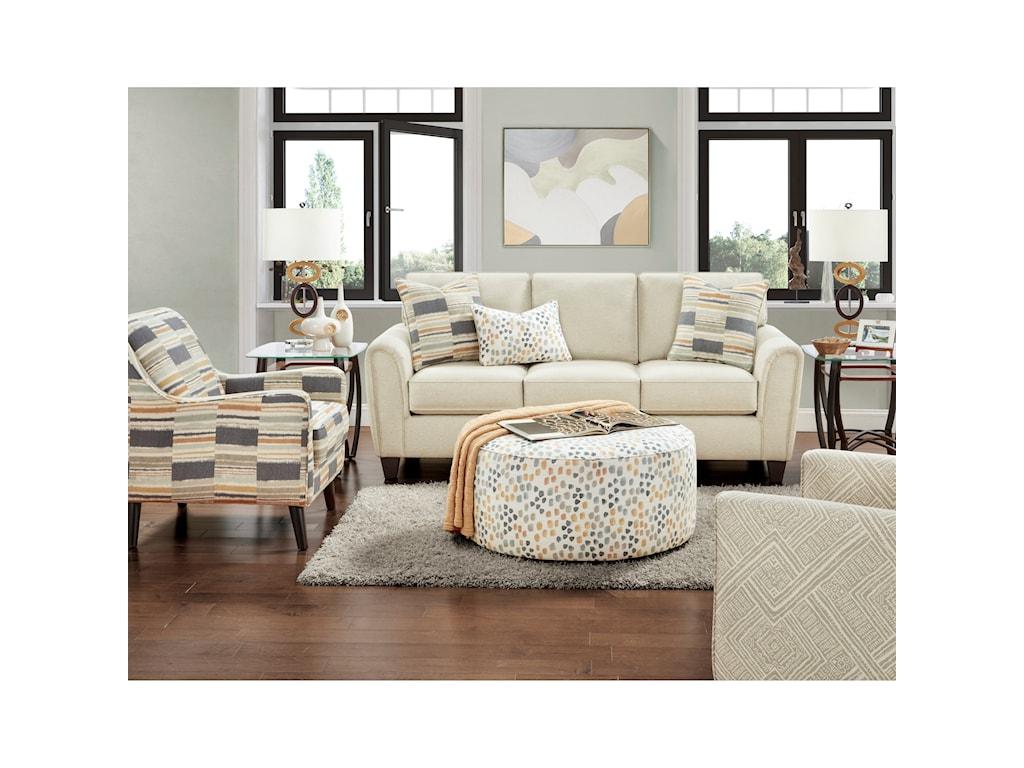 Fusion Furniture 49-00Sofa Sleeper